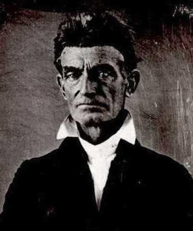 John Brown courtesy of Wikimedia Commons